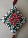 Poinsettia Hanging Decoration. Special offer now from £9.50